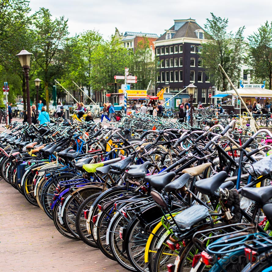 amsterdam bikes centraal station