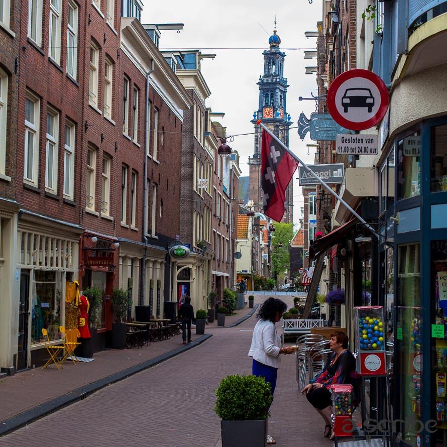 amsterdam westerkerk church jordaan street
